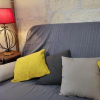 Confortable canapé lit