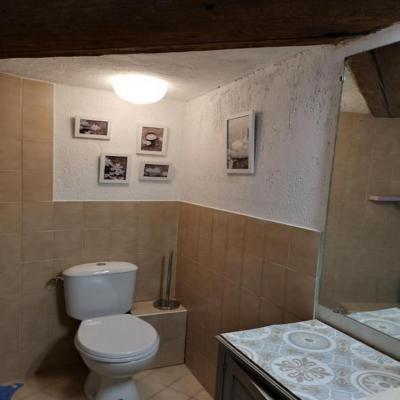 Salle de douche chambre ursuline.