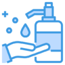 Hand wash hygiene soap cleaning hands icon 140618